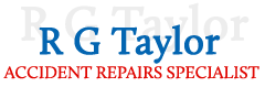Vehicle repairs in Cambridgeshire by R G Taylor Accident Repairs Specialist